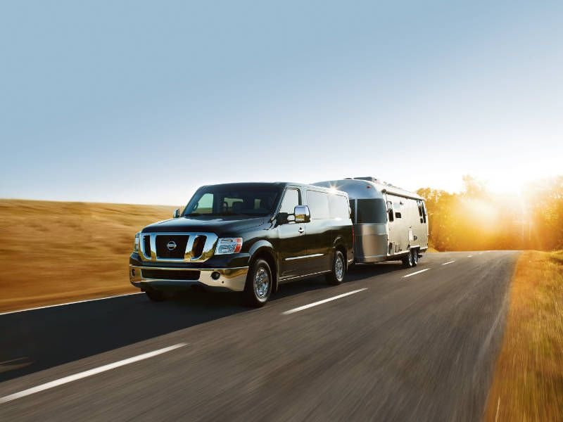 2016 Nissan NV Passenger Van Towing1