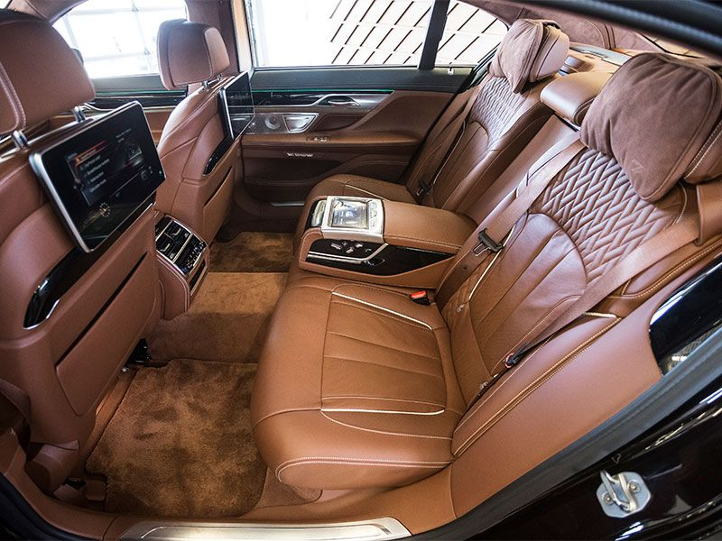 BMW 7 Series : car with reclining back seat - islam-shia.org