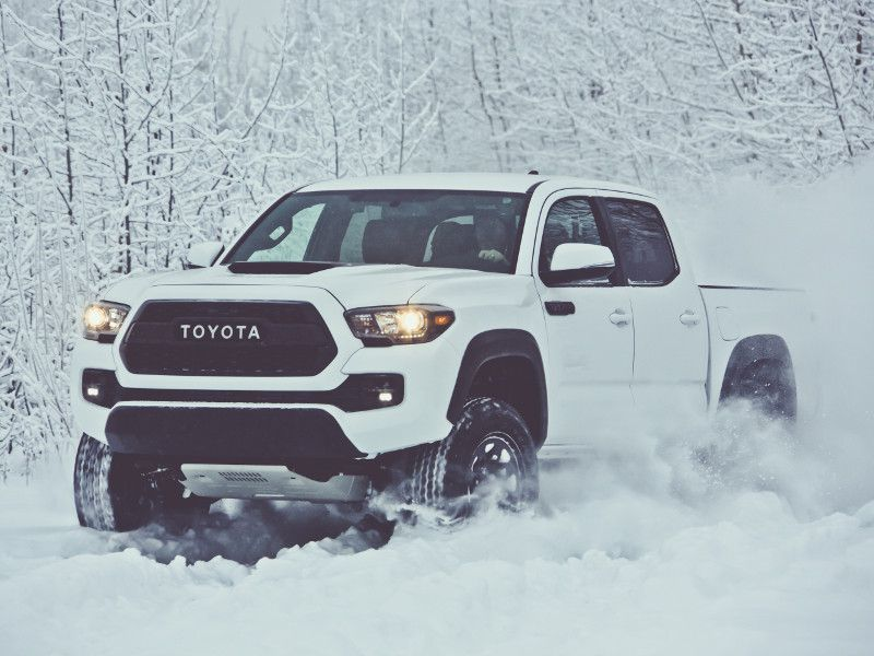2017 Toyota Tacoma S Best Trucks For Snow