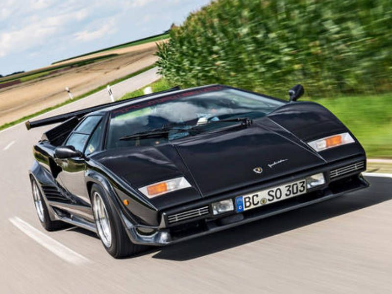 2) Lamborghini Countach Turbo S (2 Examples)