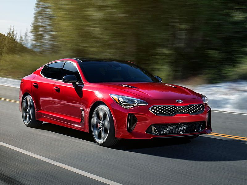 10 sporty sedans that won\u0027t break the bank autobytel com2018 kia stinger