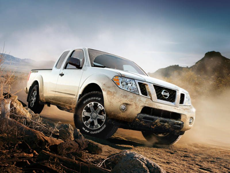 2017 nissan frontier small truck