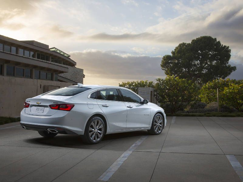 The 2017 Chevrolet Malibu Hybrid Can Travel More Than 600 Miles On One Tank Of Fuel