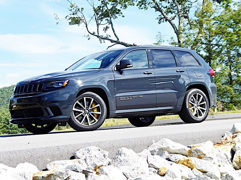 10 Things You Need to Know About the Jeep Grand Cherokee Trackhawk