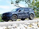 2018 Jeep Grand Cherokee Trackhawk front quarter hero