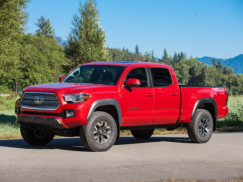 2016 toyota tacoma trd off road 4x4 road test and review. Black Bedroom Furniture Sets. Home Design Ideas