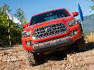 2016 Toyota Tacoma TRD offroad 4x4 obstacles