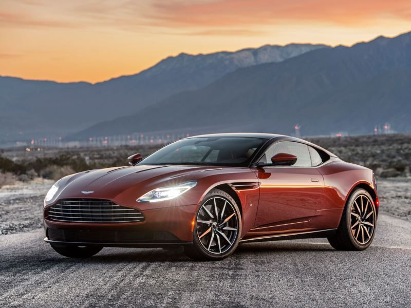 2017 Aston Martin DB11 Cinnabar Orange