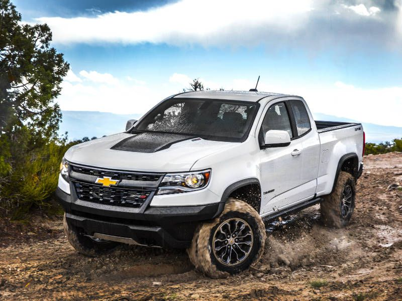 2018 Chevrolet Colorado The Best Trucks For Snow
