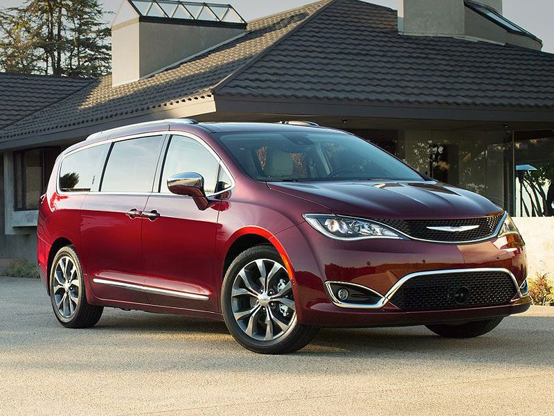 2 2017 Chrysler Pacifica Starting At 28 995