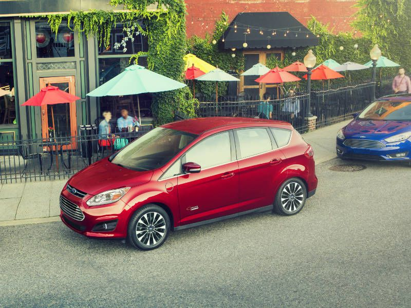 2017 Ford C-Max Road Test and Review
