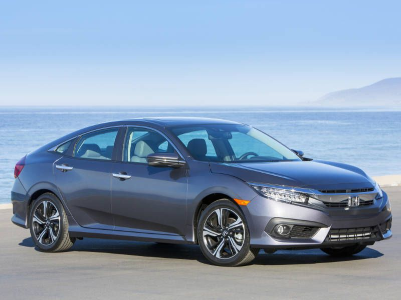 2017 Honda Civic Sedan Front Profile