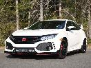 2017 Honda Civic Type R exterior front angle by Miles Branman