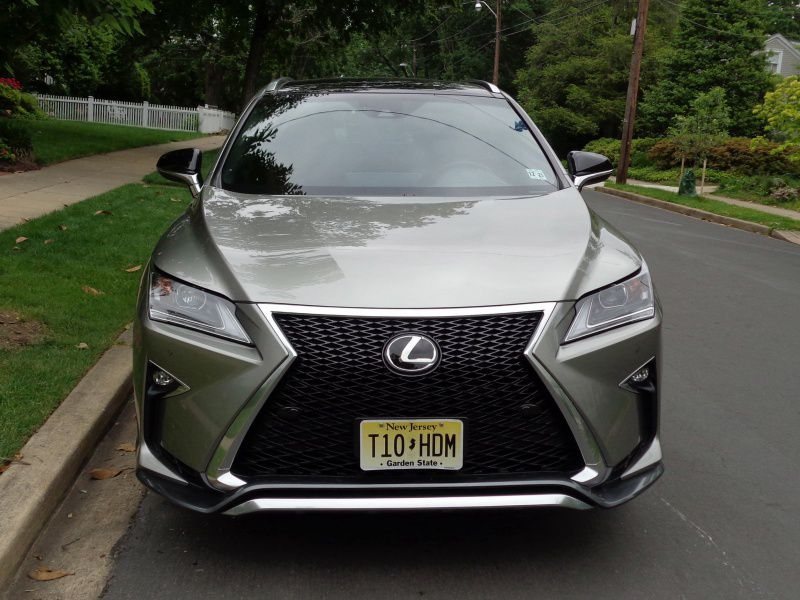 2017 lexus rx 350 f sport road test and review. Black Bedroom Furniture Sets. Home Design Ideas