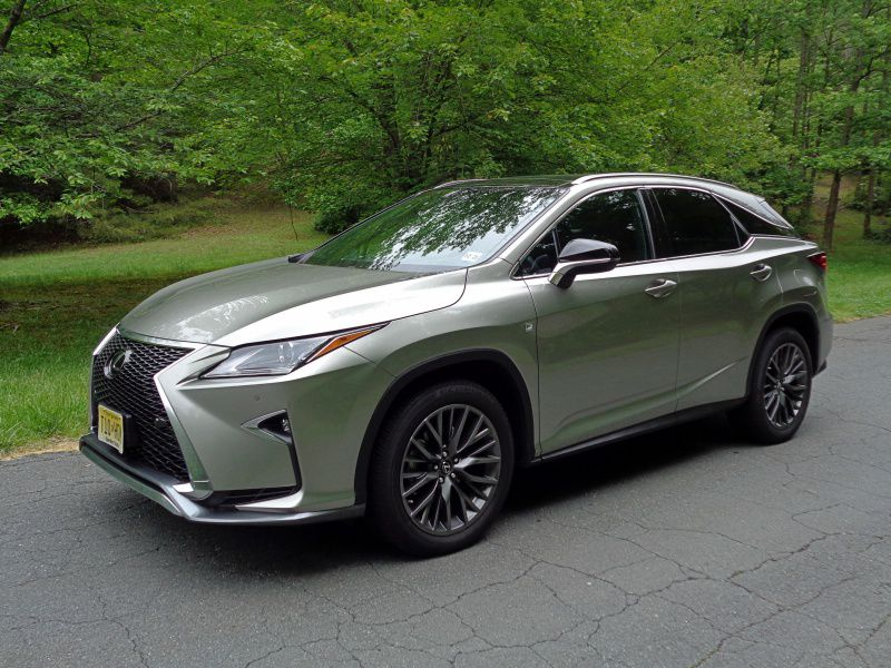 2017 Lexus RX 350 F Sport Road Test And Review