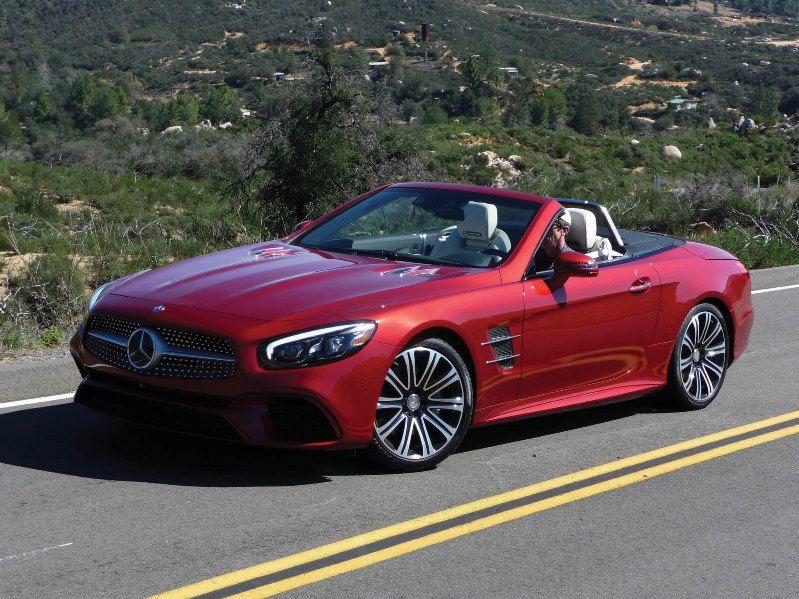 2017 mercedes-benz sl-class road test and review | autobytel