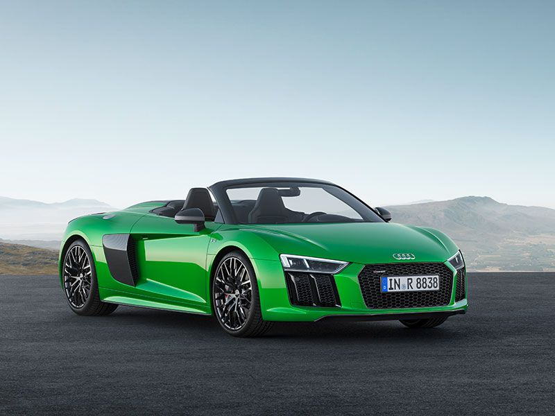 Audi R8 V10 plus Spyder  3131edited