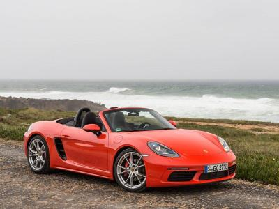 2017 Porsche 718 Boxster S Road Test And Review Autobytelcom