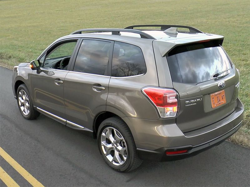 2017 Subaru Forester Road Test And Review Autobytel Com
