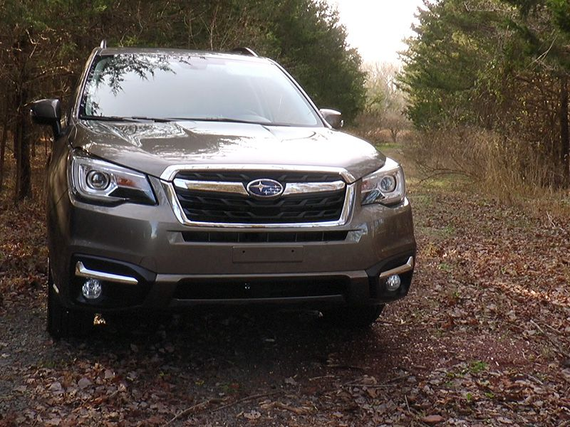 Driving Impressions The 2017 Subaru Forester