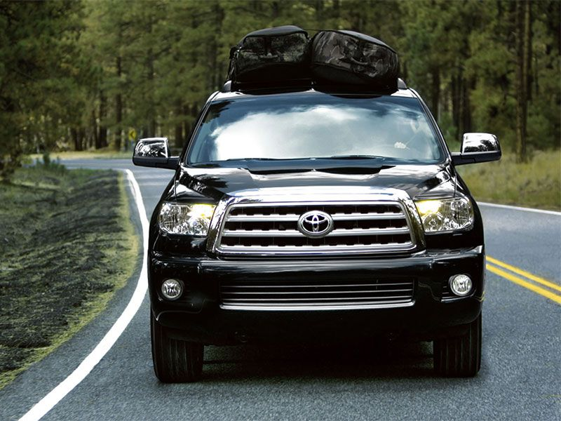 2017 toyota sequoia road test and review. Black Bedroom Furniture Sets. Home Design Ideas