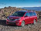 2017 Toyota Sienna beach hero