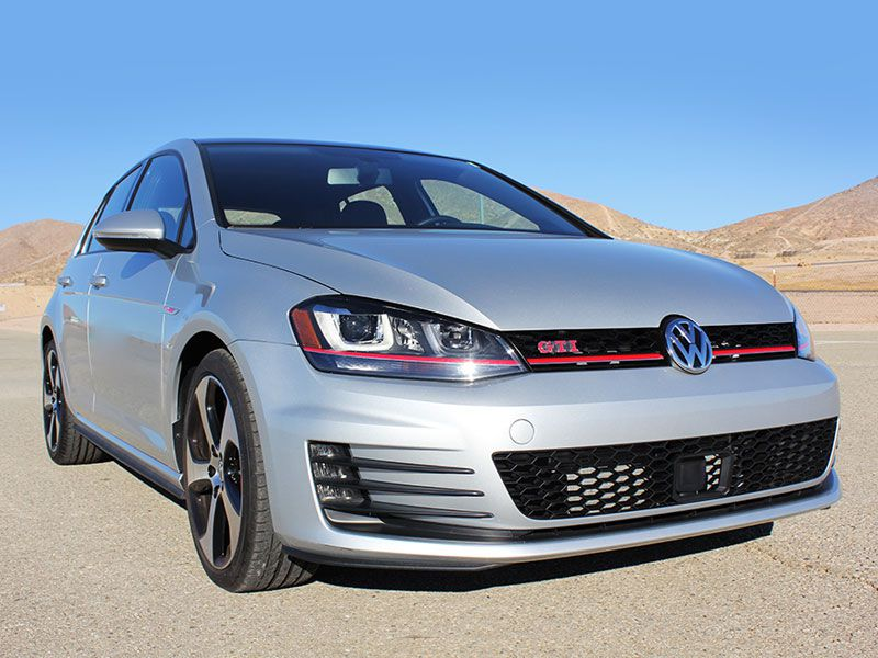 volkswagen golf gti road test  review autobytelcom