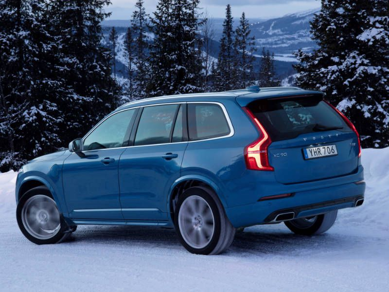 2017 Volvo XC90 Rear Quarter