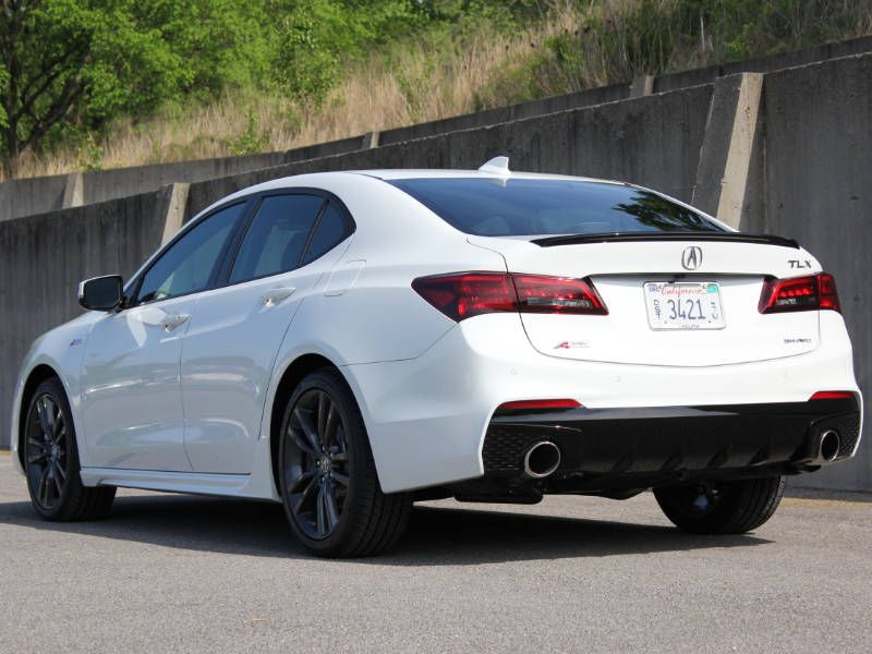 Acura TLX Road Test And Review Autobytelcom - Acura 2018 tlx price