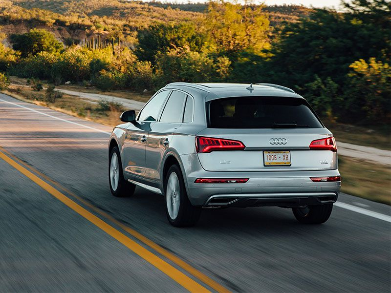 2018 audi q5 road test and review. Black Bedroom Furniture Sets. Home Design Ideas