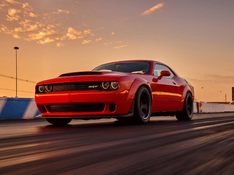 2018 Dodge Challenger Srt Demon Road Test And Review Autobytel Com