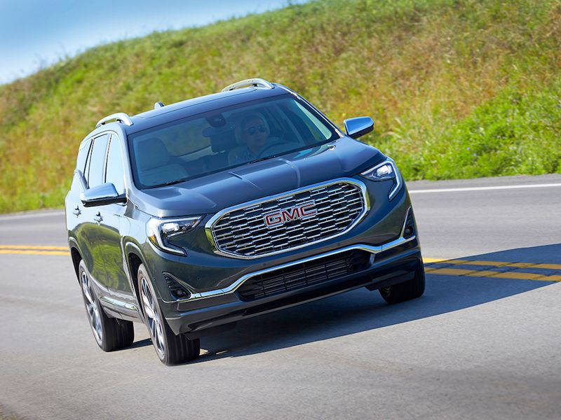 2018 GMC Terrain Road Test and Review