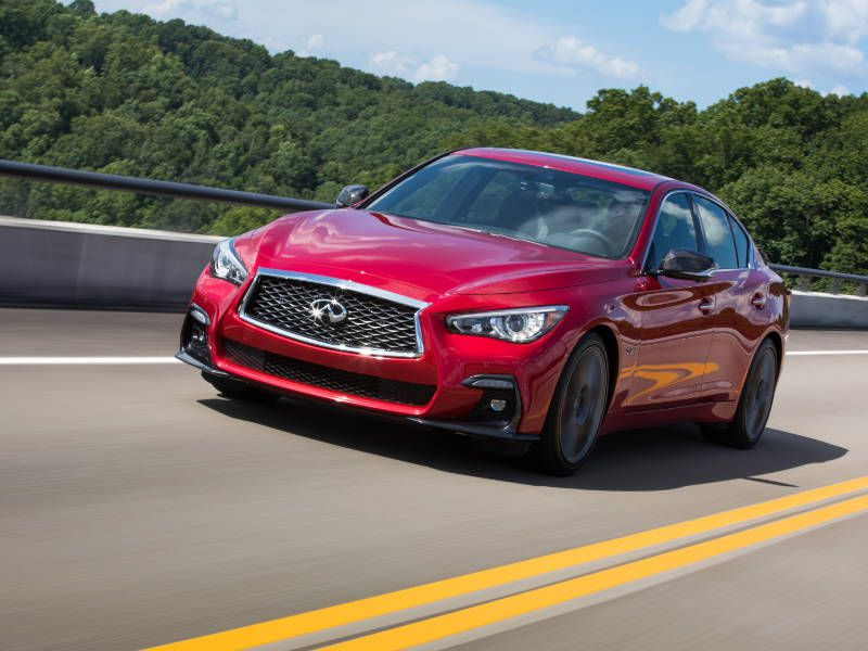 2018 Infiniti Q50 bridge driving