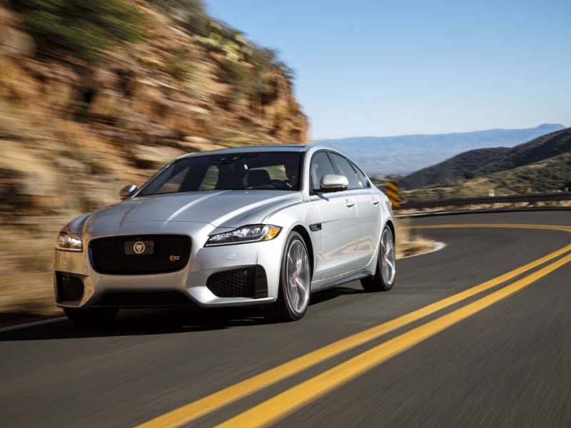 2018 Jaguar XF Road Test and Review