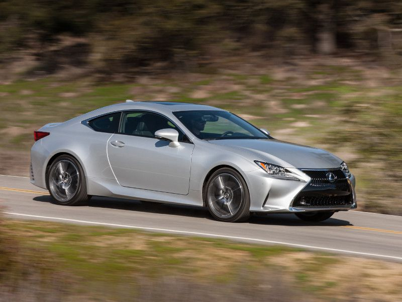 2018 lexus rc road test and review. Black Bedroom Furniture Sets. Home Design Ideas