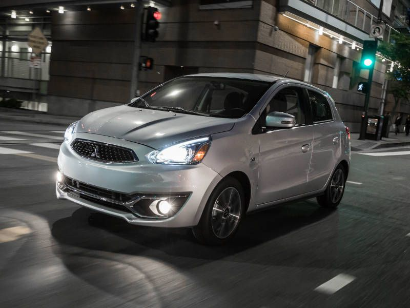 2018 Mitsubishi Mirage Road Test and Review