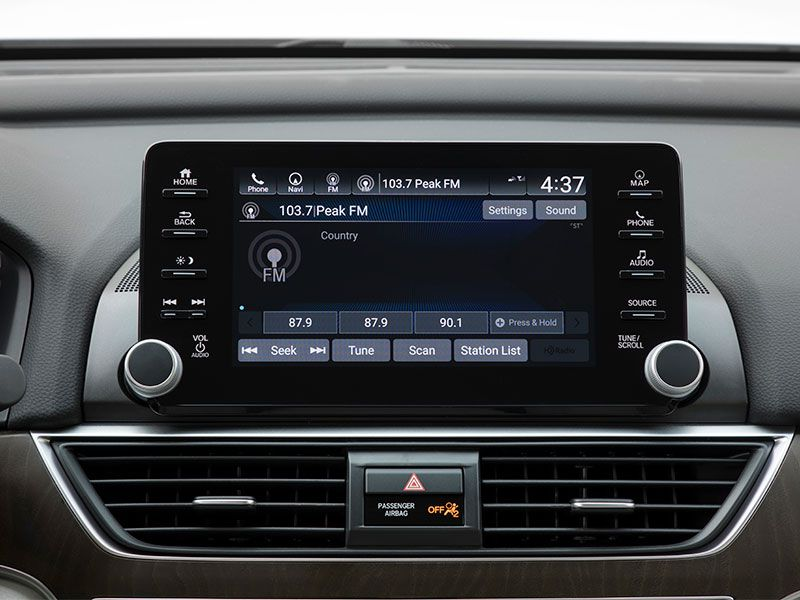 Honda Accord Touring Radioedit