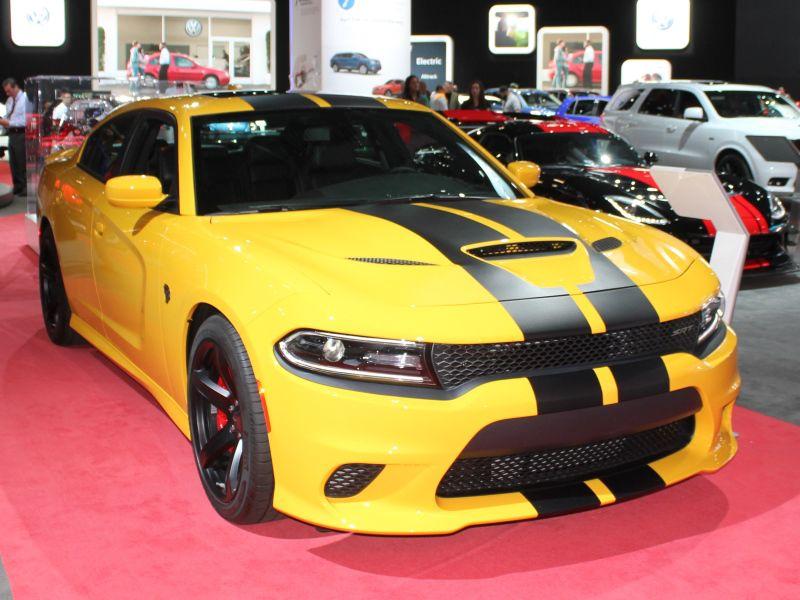 Car Photos From The New York International Auto Show - Dodge car show 2018