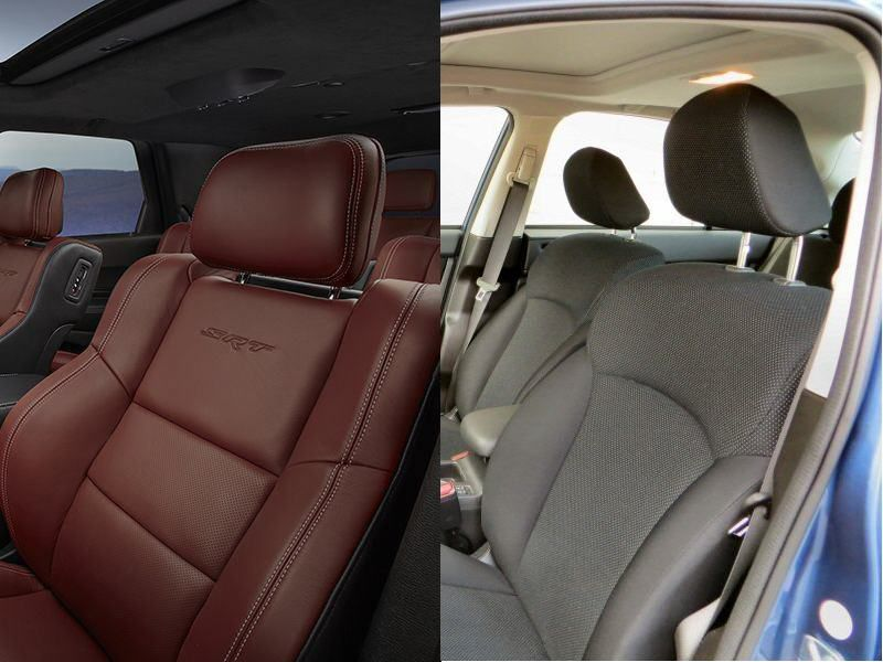 Comparison Leather Car Interior Vs Cloth