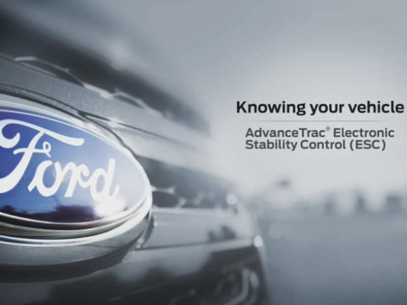 Ford AdvanceTrac® with Roll Stability Control (RSC®)