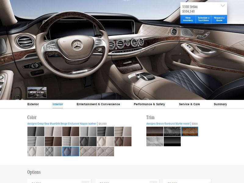 start from scratch build your own car online. Black Bedroom Furniture Sets. Home Design Ideas