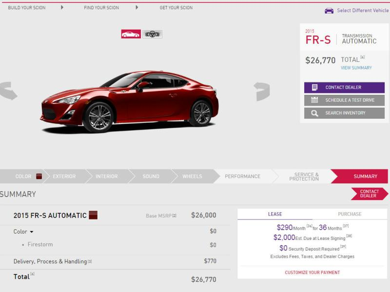 Design Your Own Car Online >> Start From Scratch Build Your Own Car Online Autobytel Com