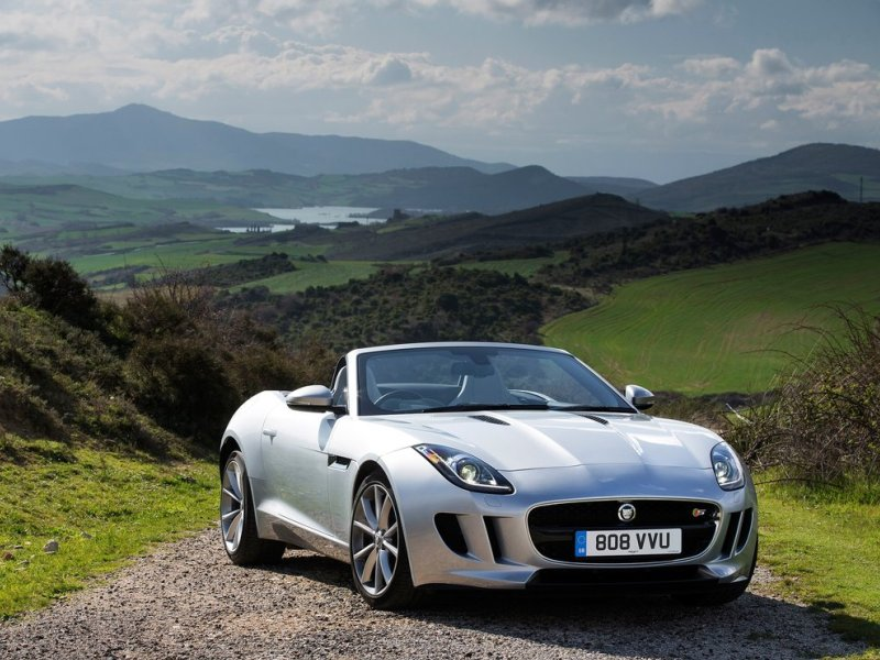 Jaguar F-Type Convertible