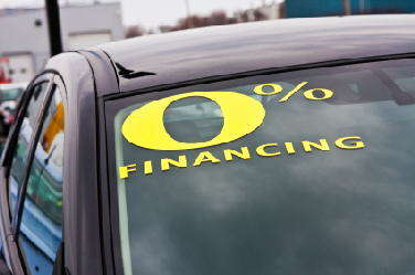 What is Zero Percent Financing?