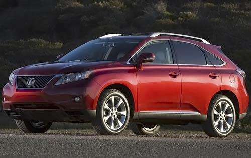 2011 Lexus RX 350 Review