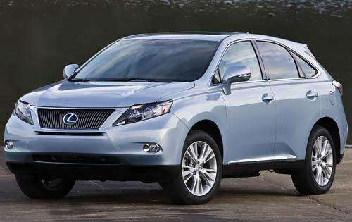 2011 Lexus RX 450h Review