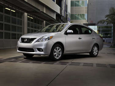 2012 Nissan Versa Trades More MPG for Less $$$