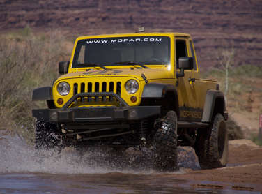 Jeep JK-8 Truck Now Available From Mopar