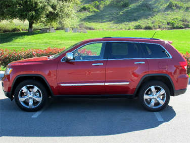 Amazing 2011 Jeep Grand Cherokee: Exterior