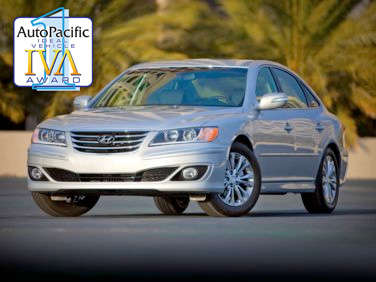 2011 AutoPacific Ideal Vehicle Awards: Large Car